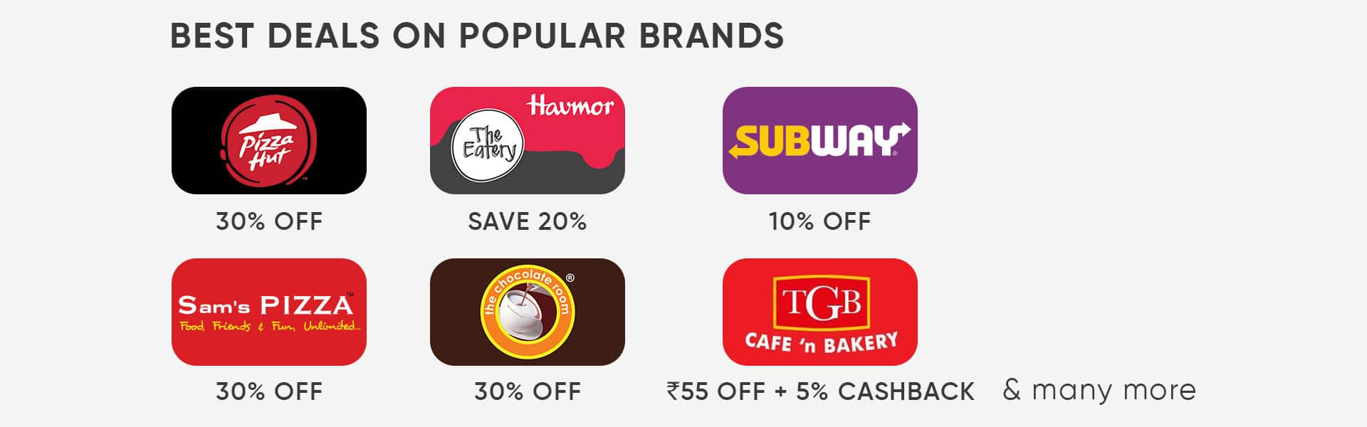 popular restaurant brand with voolsy